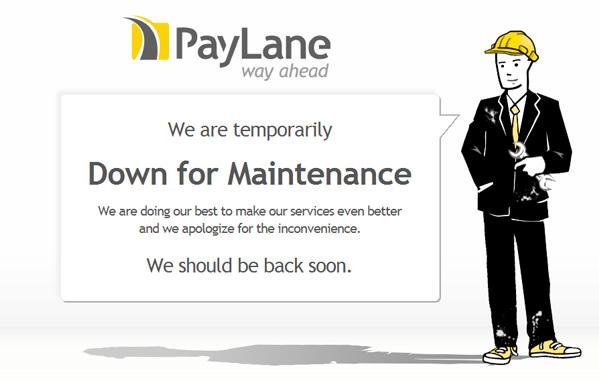 PayLane 500 page