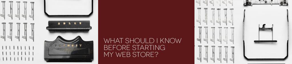 web store 101